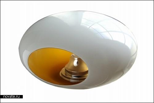 Светильник в форме гальки