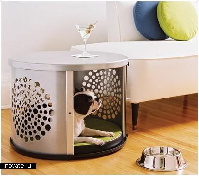 Комнатные будки-тумбочки для домашних собак