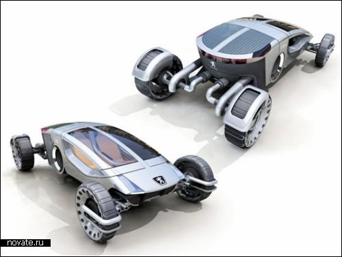 Концепт-трансформер для дорог любой сложности