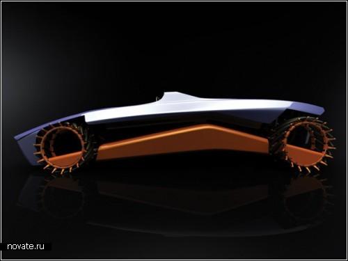 Концептуальный автомобиль Phoenix. Проект дизайнеров Niels Grubak Iversen и David Gonсalves