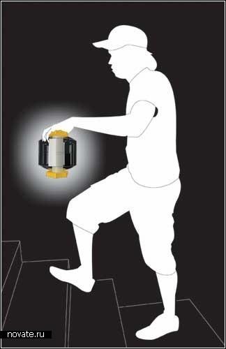 Pillet: концептуальный фонарь для *комнаты задумчивости*
