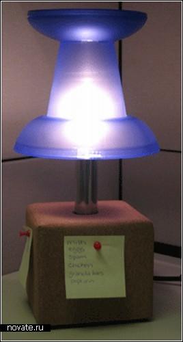Кнопка, дарующая свет