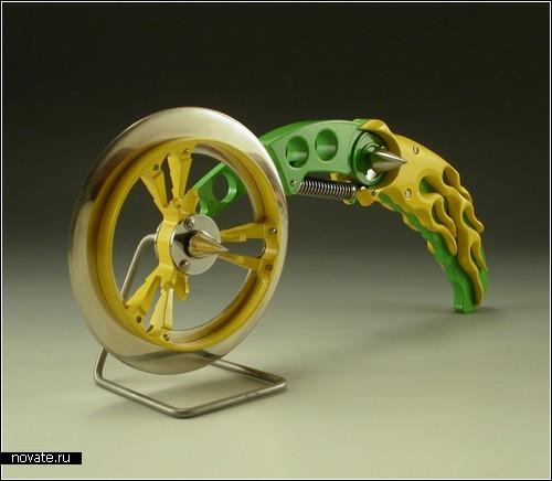 Bike pizza cutters от американского профессора Фрэнки Флада (Frankie Flood)