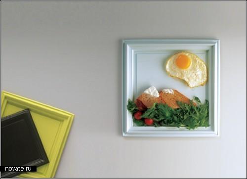 Обзор дезайнерских тарелок