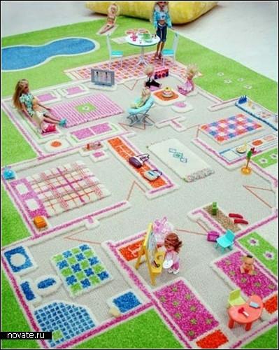 3-D Play Rugs. Детский мир на ковре