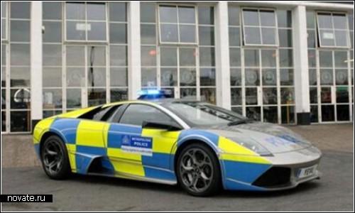 Полицейская Lamborghini Murcielago LP640 для патрулей Лондона