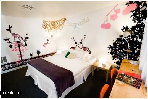 Presidio Motel - мотель с почти детским интерьером.