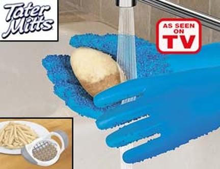 Представить, что моешь руки - и картошка почищена