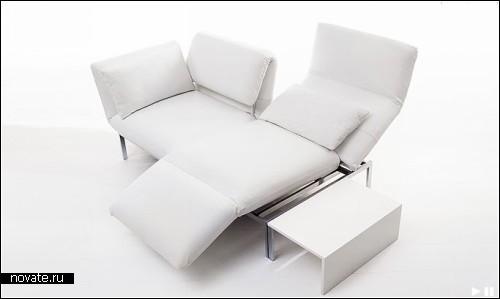 Исключительно пластичный диван Roro 3