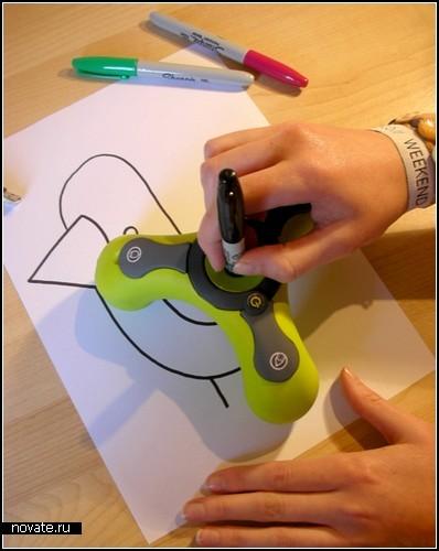 ScribbleBot - гаджет для художников-неумеек
