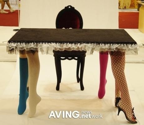 Забавное в интерьерах ( необычное, странное, смешное.... все сюда) Table-2