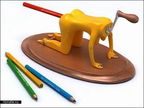 Креативные точилки для карандашей