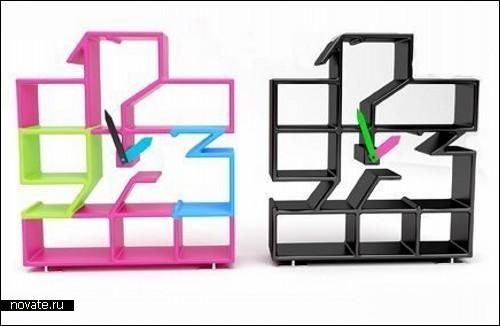 Обзор креативных полок, стеллажей и шкафчиков
