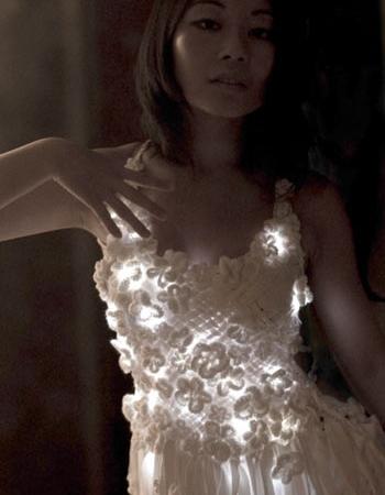 Сияющее платье