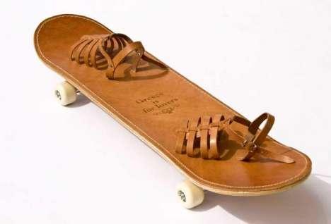 Модный скейт а-ля Греция