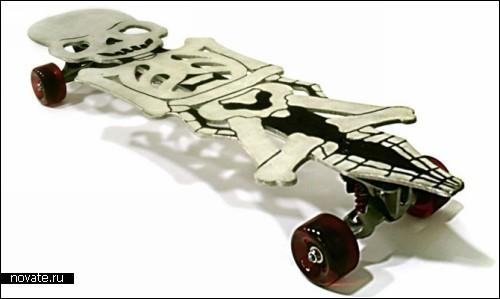 Брутальные скейты от Corbus Boards