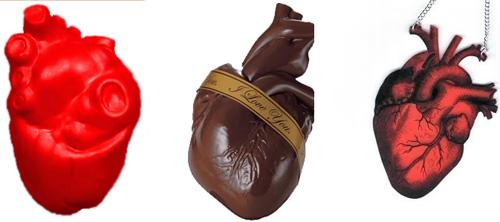 Сердечные сувениры для влюбленных
