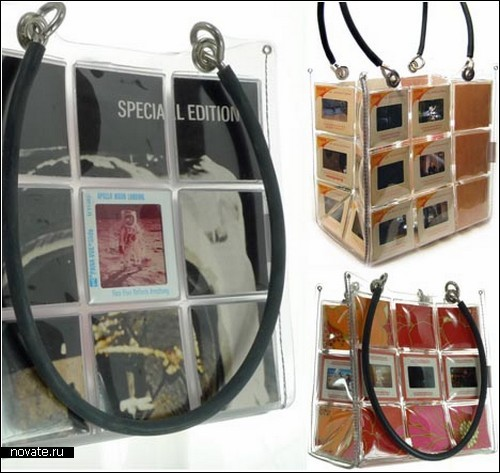 Эксклюзивные дизайнерские сумки из слайдов