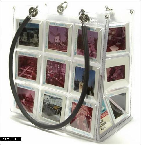 Креативные сумки из разнообразных слайдов.  Летний дизайн.
