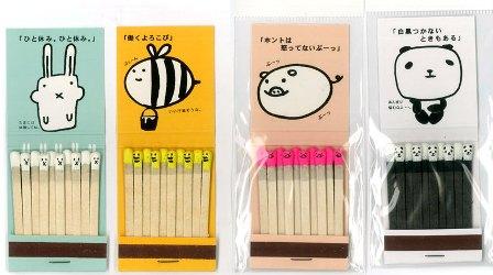 Японские спички-смайлики