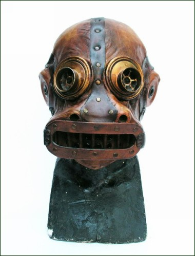 Креативные маски и противогазы в стиле стимпанк (Steampunk )