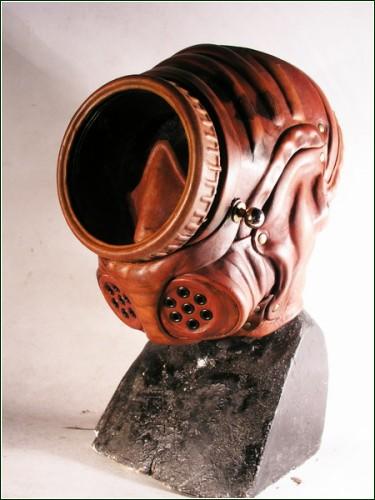 Креативные маски и противогазы в стиле стимпанк