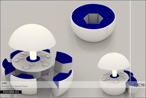 Космический стол  (мечта любой хозяйки)
