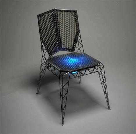 Сияющий стульчик