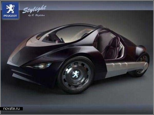 Концептуальный *стиляга* от Peugeot