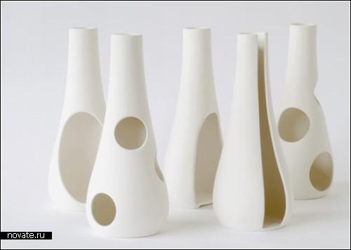 Дизайнерские Swell vases от Аники Энгельбрехт (Anika Engelbrecht )