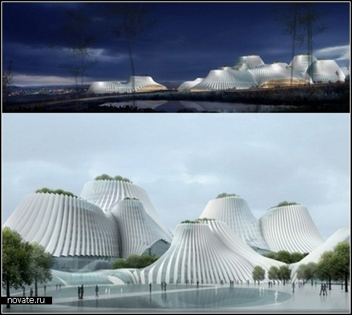 Проект Taichung Convention Center от MAD Architects