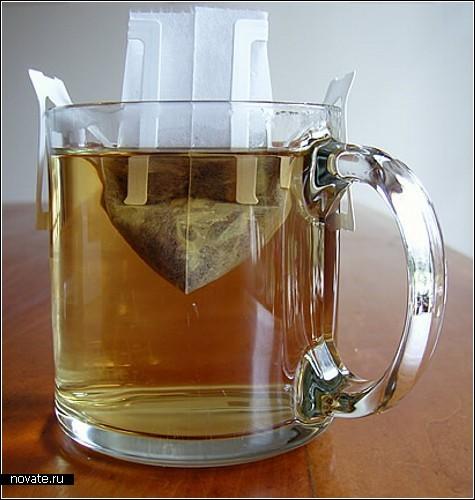 Креативный обзор чайных пакетиков