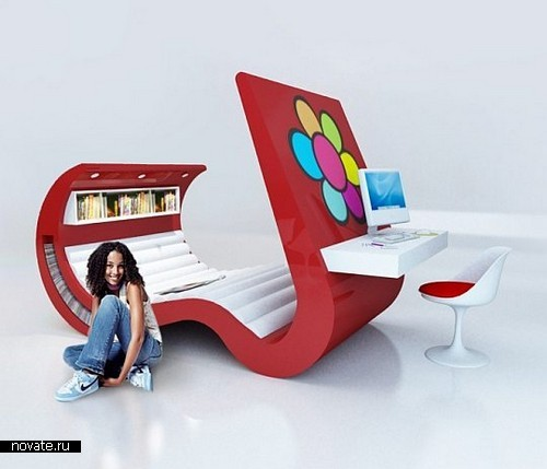 Концептуальная мебель для продвинутых подростков