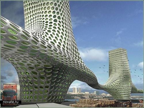 Три многоэтажных грации для Дубая. Проект студии NOX