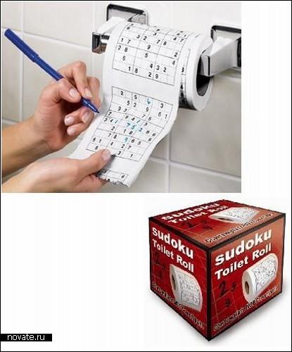Креативная туалетная бумага