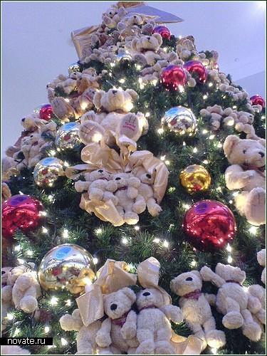 Диковинные новогодние *елки*