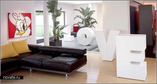 Мебель-алфавит для тех, кому не хватает слов