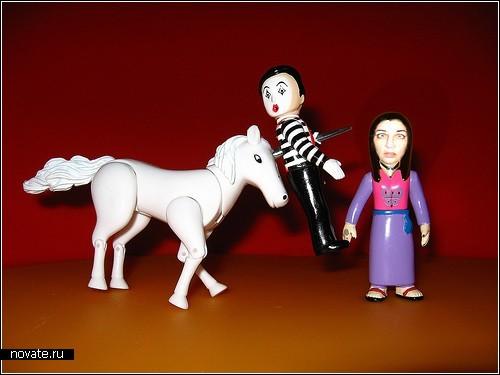 Кровожадные звери из The Avenging Unicorn Play Set