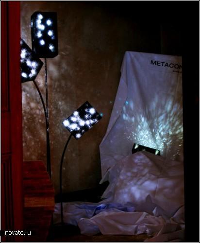 Свет со всей Вселенной. Universe Light от дизайнеров из metaconcrete