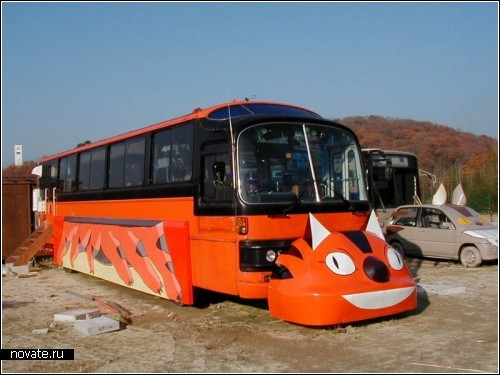 Веселые городские автобусы