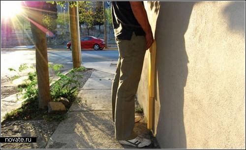 Public Urinal. Настенный биотуалет для мужчин