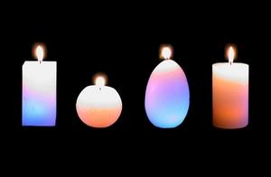 Безопасные свечи украсят романтический вечер