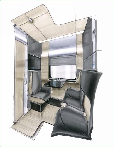 Комфортабельный вагон для семейного путешествия