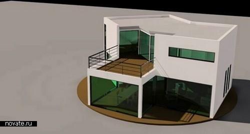 Биоклиматический дом-стол