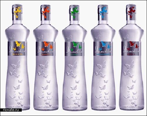 Модный дизайн бутылок для *огненной воды*. Обзор