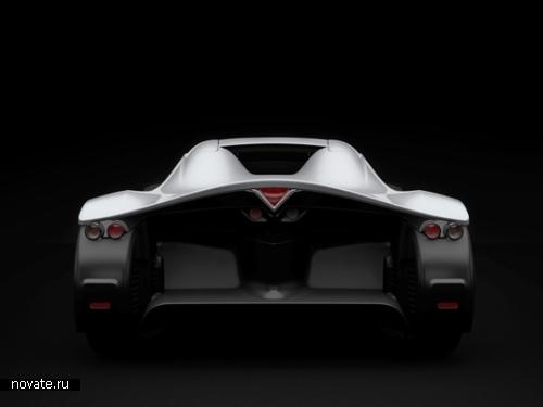 Звезда Парижского автосалона - электрический родстер Venturi Volage