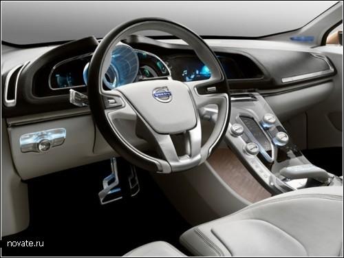 Концептуальный Volvo S60 - звезда будущего шоу в Детройте