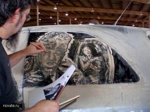 Скотт Уэйд. Мастер по грязным машинам и пыльным стеклам