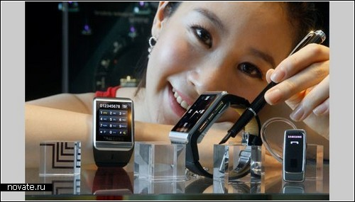 Samsung S9110 - часофон ближайшего будущего