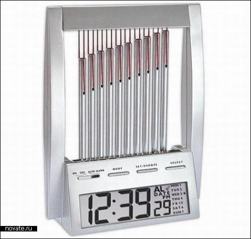 Wind Chime Alarm Clock. Будильник, играющий музыку ветра.
